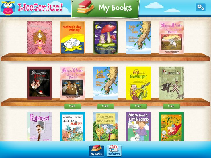 Awesome iPad app to download.  It comes with free books and is great to use for listening centers.