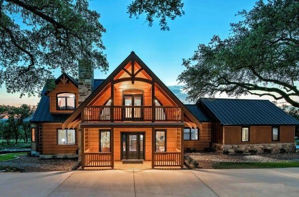 Luxury Log Living Cabins For Rent In Canyon Lake Texas United States Log Homes Log Home Plan Cool House Designs