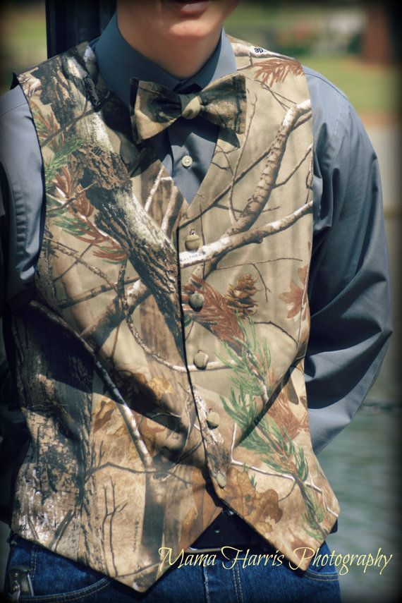 Realtree Camo twill Vest for Men from Keepers by KeepersAtHome10