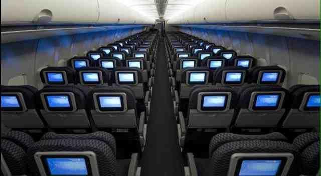 Seatguru seat map united boeing 757 200 752 v2 intl ny for Interieur boeing 757