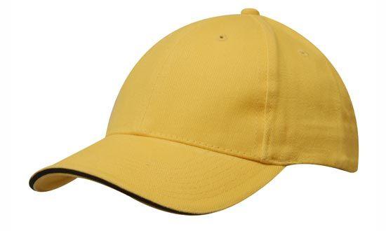 Cap Gold Black