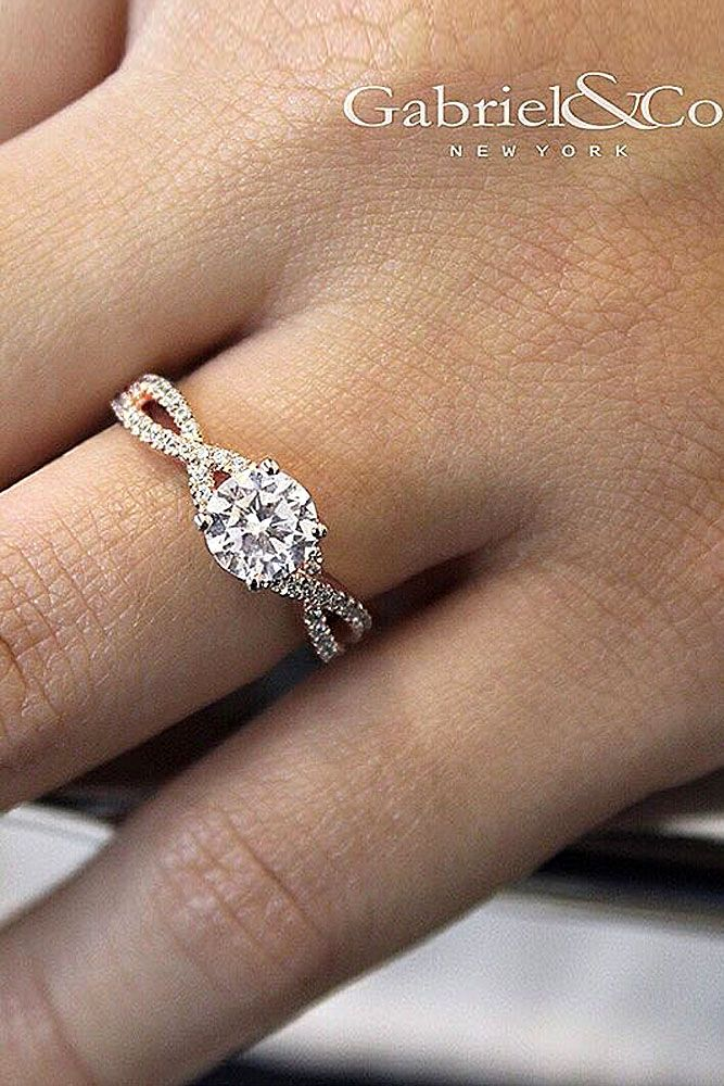 18 Top Round Engagement Rings ❤ Round engagement rings are one of the most popular rings nowadays. The round cut is a classic and timeless diamond shape. See more: http://www.weddingforward.com/round-engagement-rings/ #wedding #engagement #rings