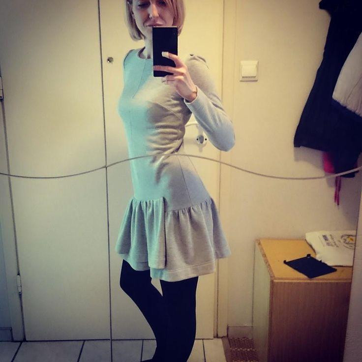 Marta - sparkling silver dress