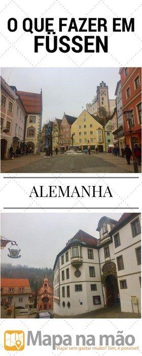 Füssen, Alemanha - ah se arrependimento matasse - Mapa na mão