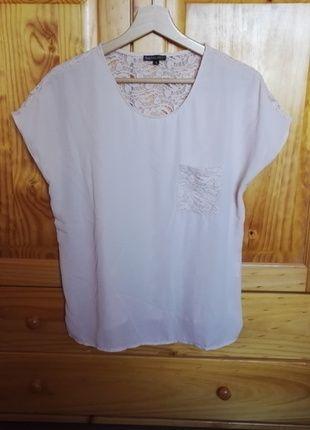 Superbe top haut tee shirt Best Mountain taille L, dentelle FDPC