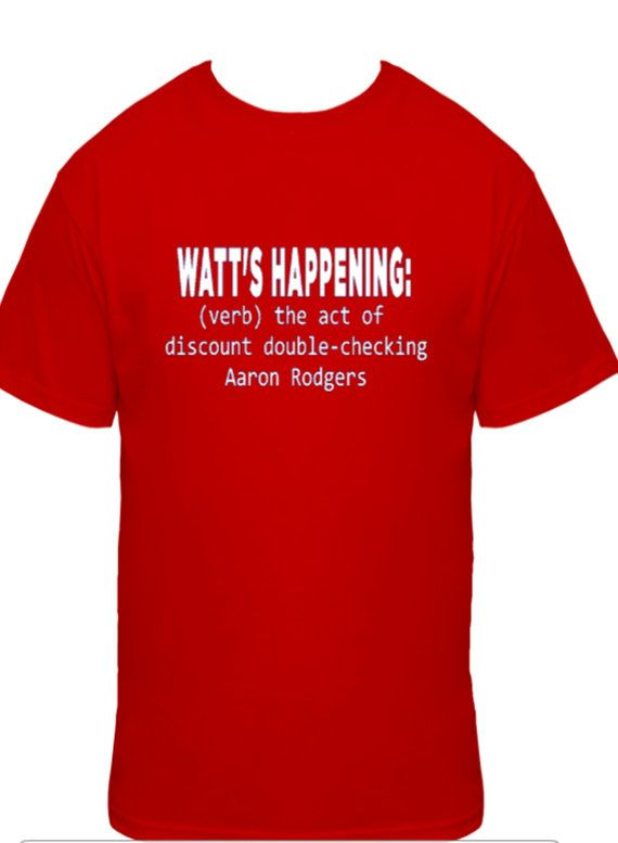 Watt's Happening Houston Texans football themed by bdcornelius, $19.50