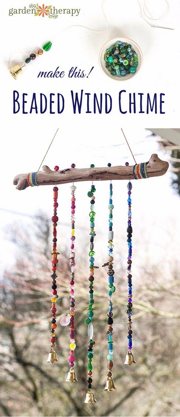 40 + Windspiel DIY Ideen und Anleitungen