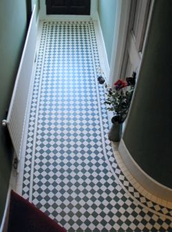 Devoke Victorian Encaustic Flooring Tiles (617A) good idea for the hall or porch way