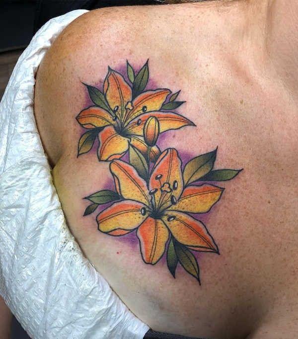 blommor betydelse tatuering