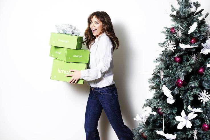 Ania z prezentami od Limango! #christmas #gift #Przybylska #limango #box