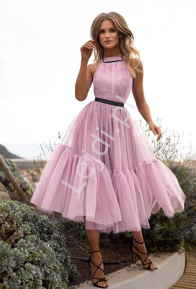 Brudno Rozowa Zniewalajaca Sukienka Tiulowa Lara Tulle Skirts Outfit Dresses Fashion