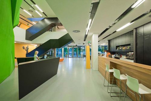 sports centre building interior - Google Search