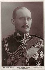 Prince Arthur of Connaught (1883 - 1938). Son of Prince Arthur and Louise Margaret of Prussia. He married Alexandra, Duchess of Fife, and had one son.