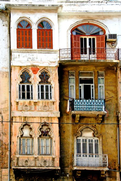 seifsbeirut:  Some old buildings in Beirut, Lebanon