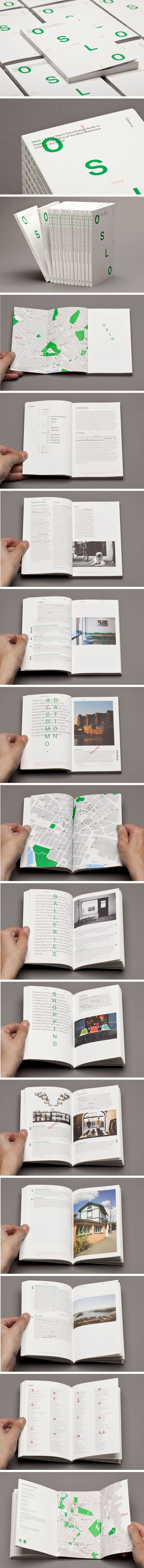 bold and minimal #design #brochure #graphics #contemporary #print #travel #guide