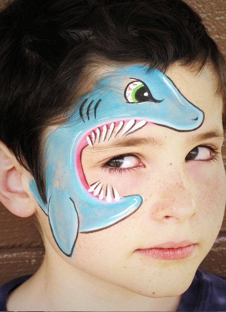 Kinderschminken Motive für Jungen: 50 inspirierende Ideen – verkleid
