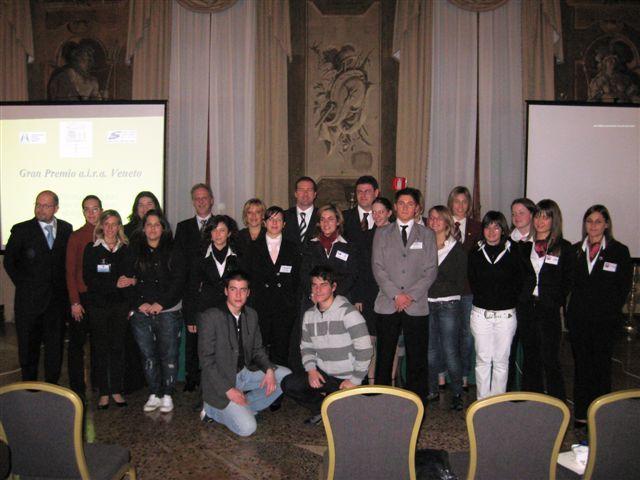 I partecipanti della III°edizione del GPAV con i membri della commissione - III°GPAV @ Ca' Sagredo Hotel / Venezia