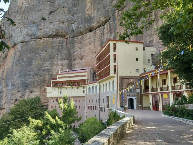 Mega Spileo Monastery - Kalavrita
