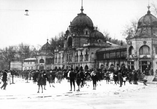 Némafilmek - magyarul: Jégkarnevál a városligeti műjégpályán (1938)