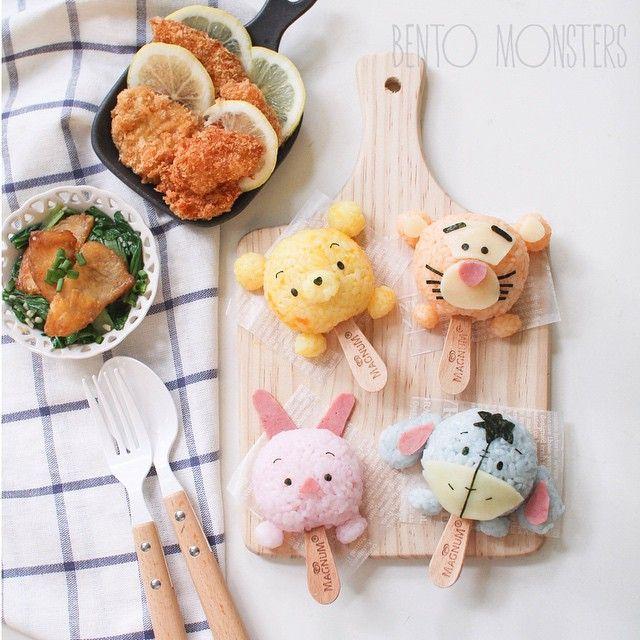 Ming(=^・^=) @bentomonsters #tsumtsum rice-cr...Instagram photo   Websta (Webstagram)