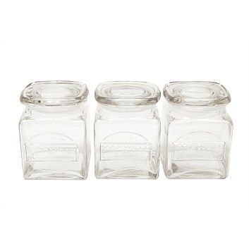 Kitchen Storage - Living & Giving - Maxwell & Williams Olde English Storage Jars Set Of 3 Gift B