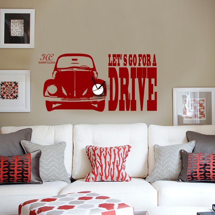 ドライブ #wallsticker #interior #DIY #ウォールステッカー
