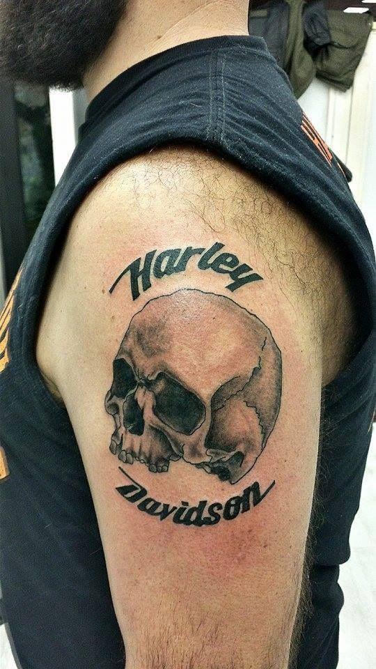 540 960 pixel for Harley skull tattoos