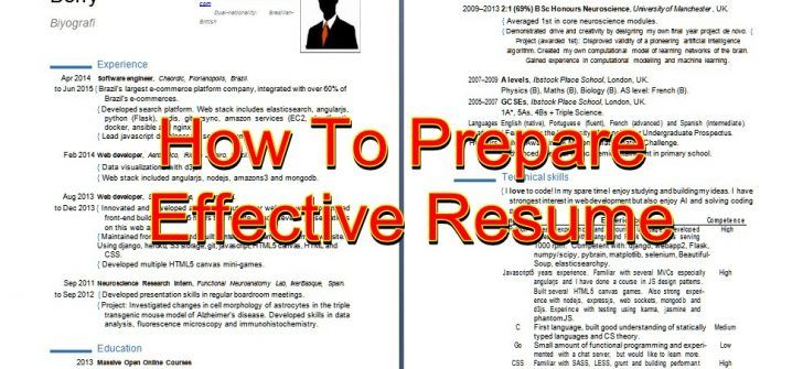 Interest For Resume 14 Best Cv Preparation Guide Images On Pinterest  First Time .
