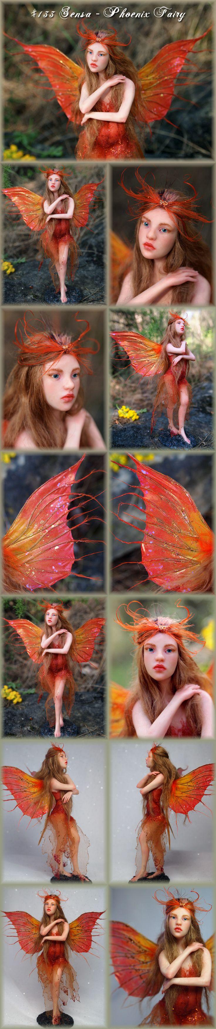 Nenúfar Blanco ~ #133 Sensa ~ Phoenix Fairy