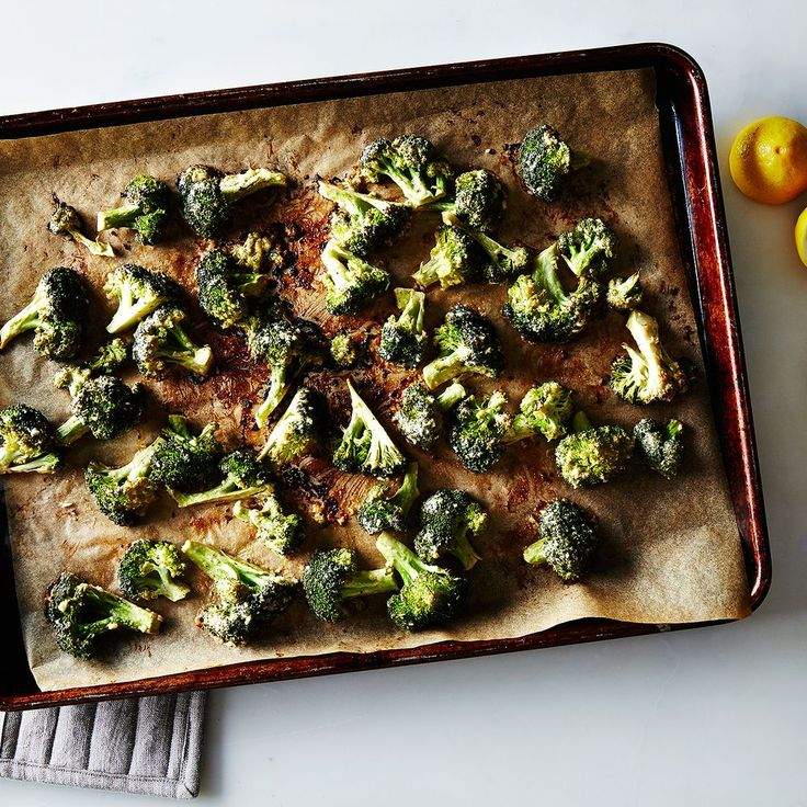 Tahini Roasted Broccoli Recipe on Food52 recipe on Food52