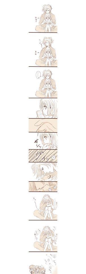 Diabolik Lovers comic (this is so cute^^)