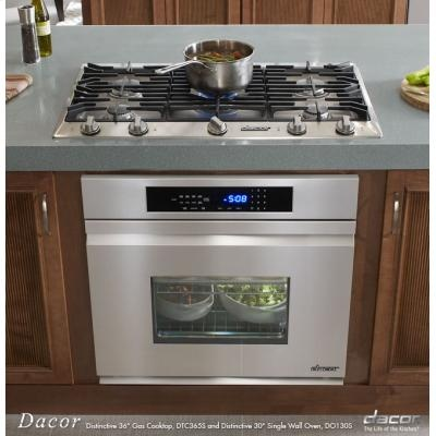 Delightful Design Idea: Wall Oven Under Cooktop.