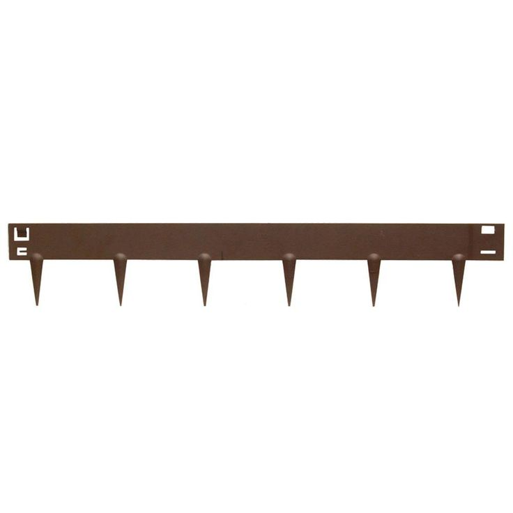 Easy Gardener 40 in. Old Town Metal Lawn Edging-8940 - The Home Depot