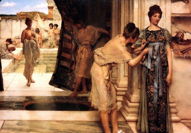 """Nell'antichità come si lavavano Gli antichi Romani, per curare la propria igiene personale, si lavavano nelle loro stanze da bagno private o nelle terme, usando """"saponi"""" particolari. Esisteva il lomentum, fatto di farina di fave, a #antichità #lavarsi #igiene"""