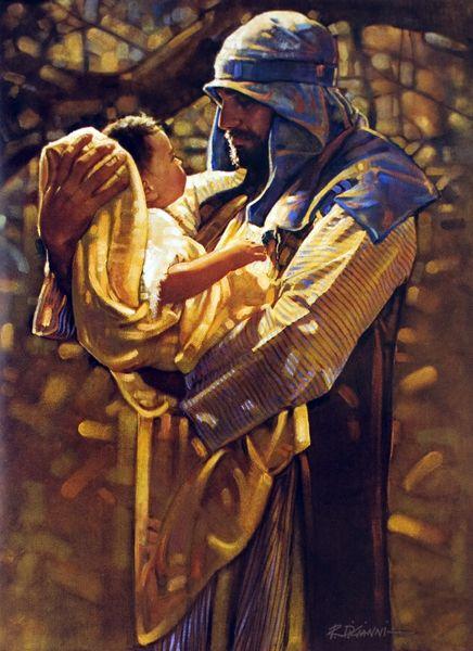 Totus Tuus Family & Catholic Homeschool: He Held Jesus in His Arms ~ St. Joseph - Prayer to St. Joseph