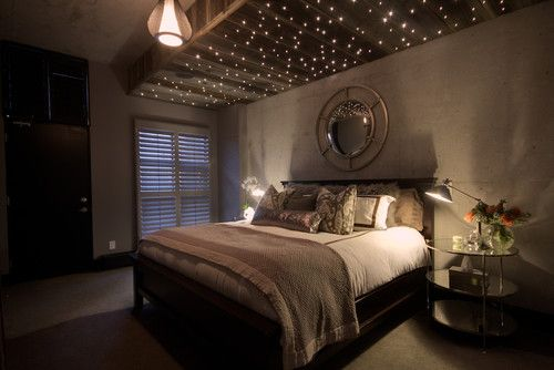 Star pattern lighting idea (kids room)