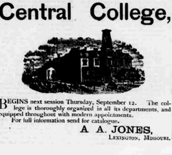 82 Best Images About Missouri Historical Colleges On Pinterest Carthage History Museum And