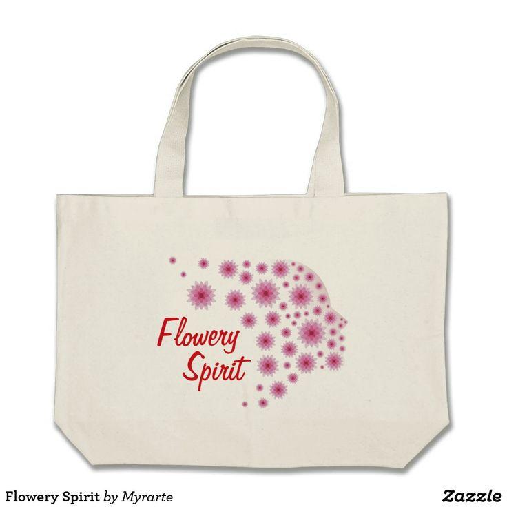 Flowery Spirit. Producto disponible en tienda Zazzle. Accesorios, moda. Product available in Zazzle store. Fashion Accessories. Regalos, Gifts. #mochila #backpack