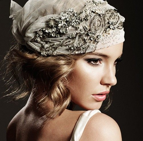 hair styles photo best 25 flapper headband ideas on flapper 7678