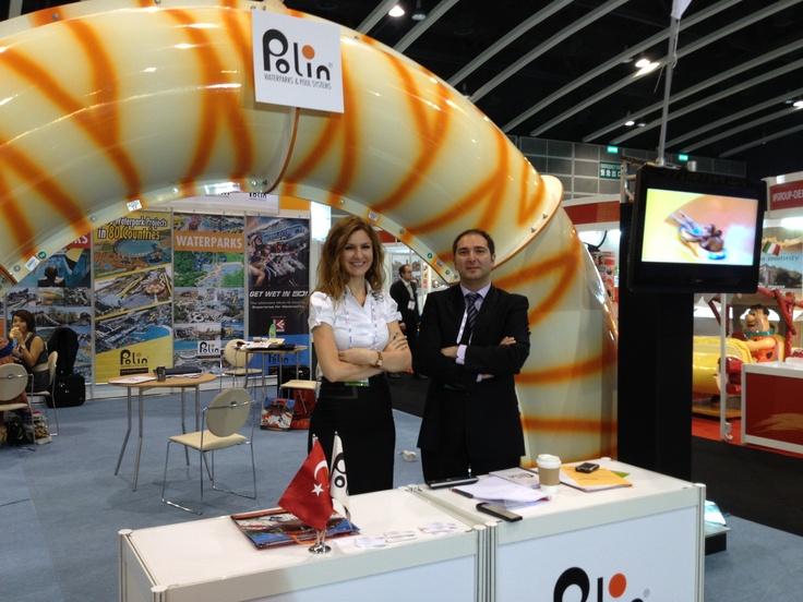 Sohret Pakis and Kubilay Alpdogan @ IAAPA Asia 2012