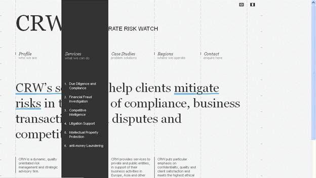 Cool Website Menu Design Ideas