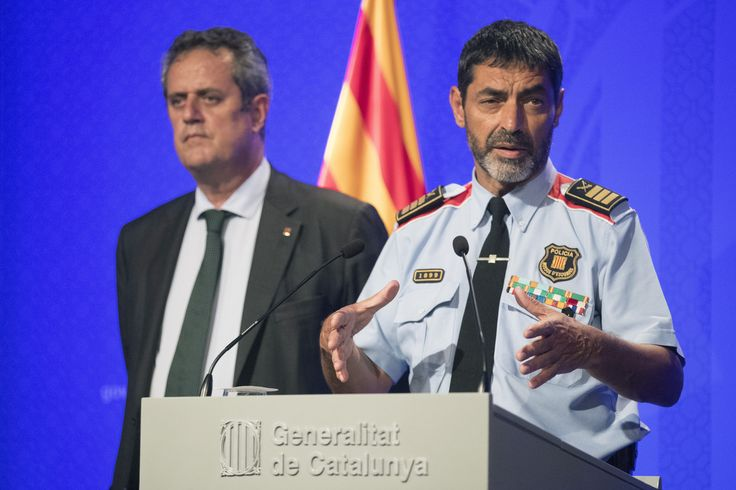 Trapero se pone del lado de sus jefes políticos y acusa al Gobierno de ocultar información policial