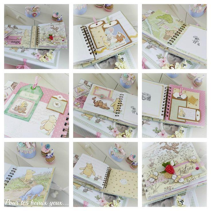 Gift set Winnie the Pooh (inside album) - Scrapbook.com