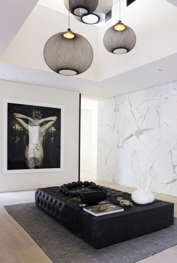 Dressing room - Villa in Bilthoven The Netherlands byGrand and Johnson - black and white picture on the wall by Marc Lagrange