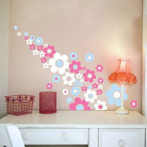 23 best Flower Wall Decals images on Pinterest Flower wall
