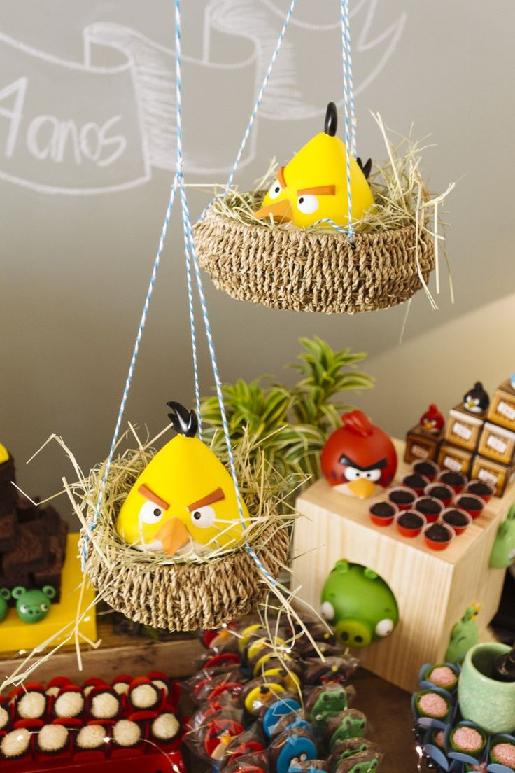 Real Party: Festa charmosa do Angry Birds