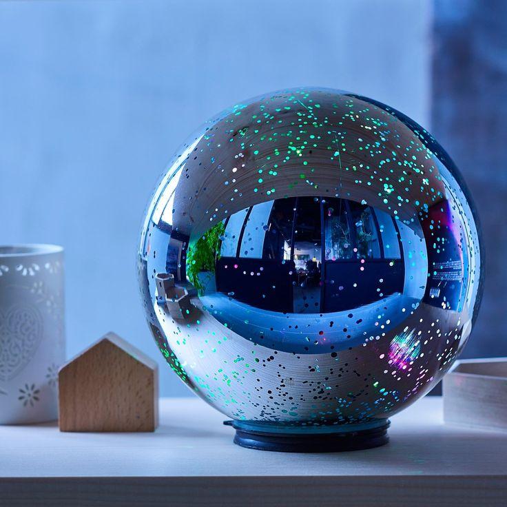 Dôme scintillant - Pour une décoration lumineuse et nomade - 37 €
