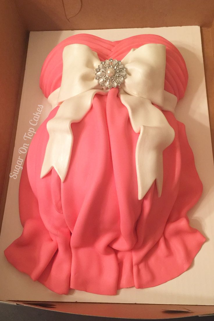 Baby bump baby shower cake!  Facebook.com/sugarontopcakes Sugarontopcakesandsweets.com