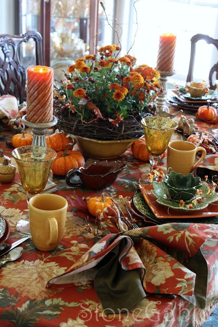 25 Best Images About Fall Table Settings On Pinterest