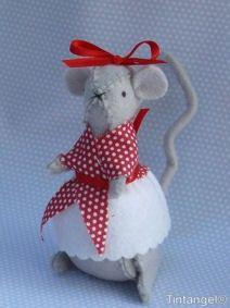 Een tintangel muisje, verslavend om te maken!